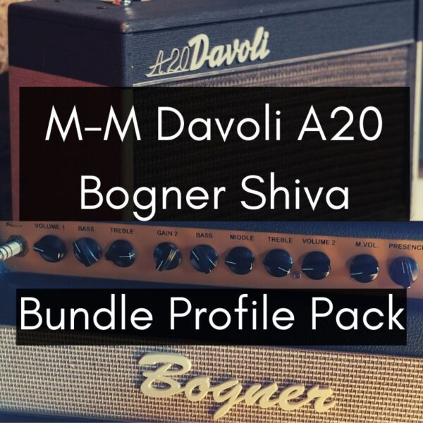 (Bundle) Davoli A20 + Bogner Shiva Profile Packs