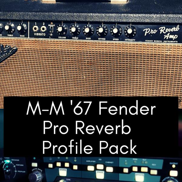 '67 Fender Pro Reverb Profile Pack