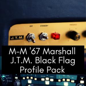 '67 Marshall JTM Black Flag Profile Pack